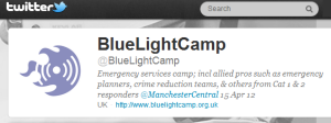 BlueLightCamp is on twitter @bluelightcamp
