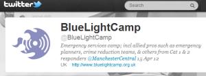 BlueLightCamp is on twitter @bluelightcamp